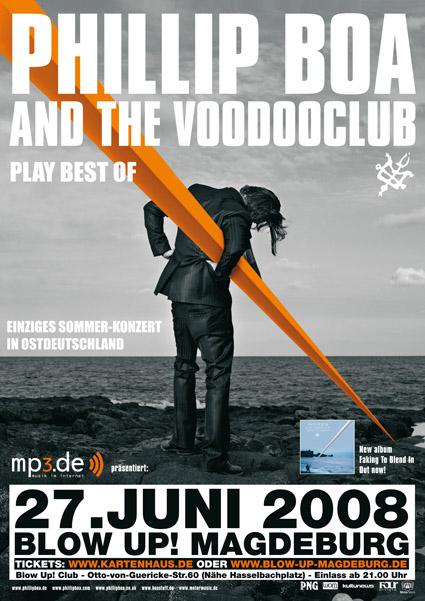 Boa Plakat Blow Up Magdeburg