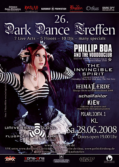 Dark Dance Flyer
